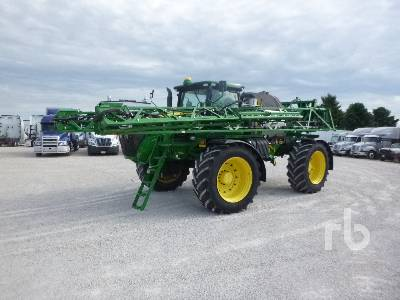 2015 JOHN DEERE R4045 120 Ft 4x4 High Clearance Sprayer