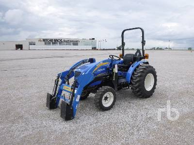 2011 NEW HOLLAND BOOMER 35 MFWD Utility Tractor