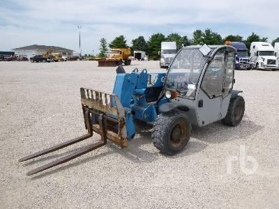 2011 GENIE GTH-5519 5500 Lb 4x4x4 Telescopic Forklift