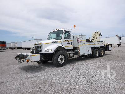 2007 FREIGHTLINER M2 T/A w/National N-85 14400 Lb Boom Truck