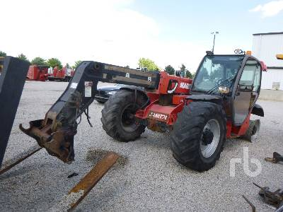 2012 MANITOU MLT735 4x4x4 Telescopic Forklift Parts/Stationary Construction-Other