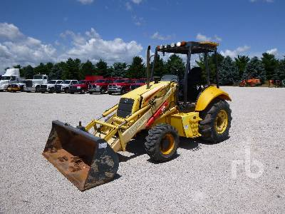 2003 NEW HOLLAND LB75B 4x4 Loader Backhoe