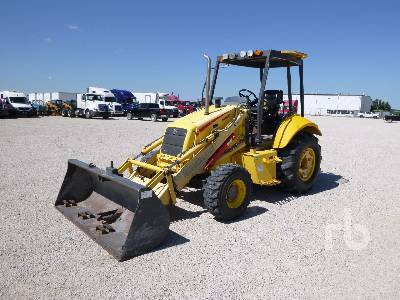2005 NEW HOLLAND LB75B 4x4 Loader Backhoe