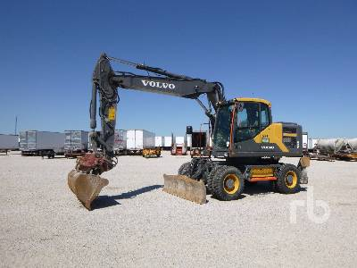 2016 VOLVO EW160E 4x4 Mobile Excavator