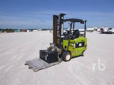 CLARK ECX32 5150 Lb Electric Forklift