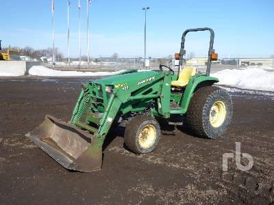 2001 JOHN DEERE 4600 2WD Tractor
