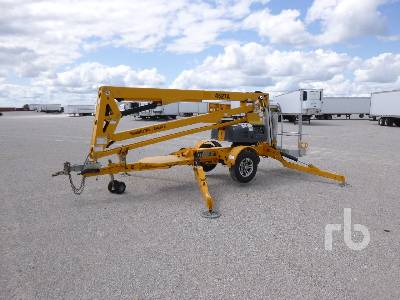 2015 HAULOTTE 4527A Electric Tow Behind Articulated Boom Lift