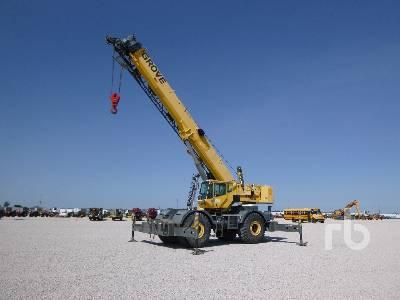 2006 GROVE RT700E 60 Ton 4x4x4 Rough Terrain Crane