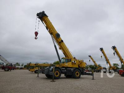 2003 GROVE RT800E 90 Ton 4x4x4 Rough Terrain Crane