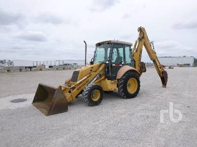 1999 NEW HOLLAND 655E 4x4 Loader Backhoe