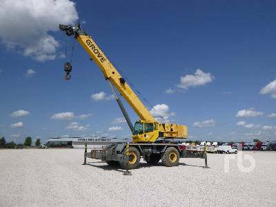 2006 GROVE RT600E 50 Ton 4x4x4 Rough Terrain Crane