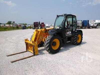 2015 JCB 536-60AGF 7000 Lb 4x4x4 Telescopic Forklift