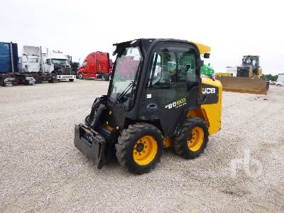 2017 JCB 190 2 Spd Skid Steer Loader