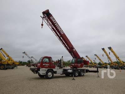 2008 TEREX T340-1XL 40 Ton T/A Hydraulic Truck Crane