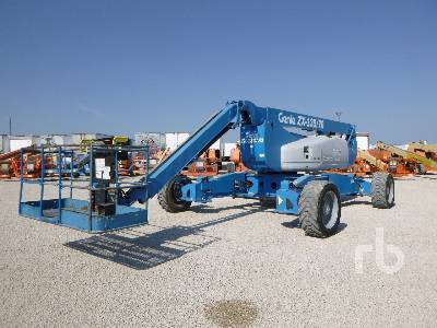 2014 GENIE ZX135/70 4x4 Articulated Boom Lift