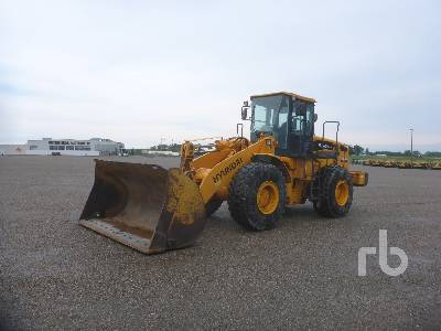 2007 HYUNDAI HL760XTD-7 Wheel Loader
