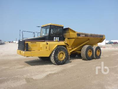 1998 CATERPILLAR D300E 6x6 Articulated Dump Truck