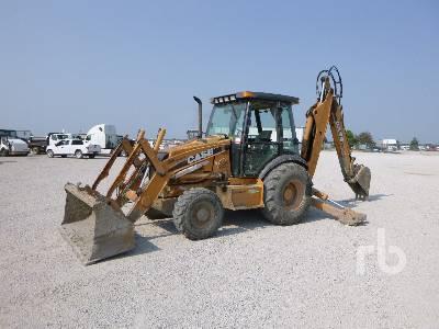 2008 CASE 590SM Series 3 4x4 Loader Backhoe