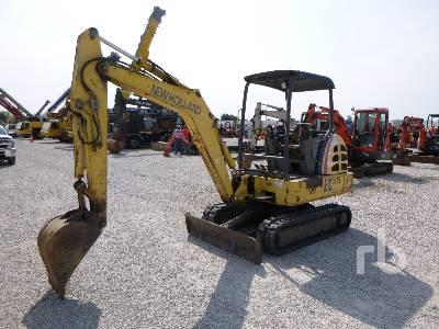 NEW HOLLAND EC35 Mini Excavator (1 - 4.9 Tons)