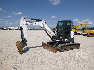 2014 BOBCAT E45 Mini Excavator (1 - 4.9 Tons)