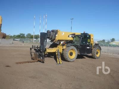 2015 CATERPILLAR TL1255C 12000 Lb 4x4x4 Telescopic Forklift