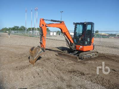 2018 KUBOTA U35-4 Mini Excavator (1 - 4.9 Tons)