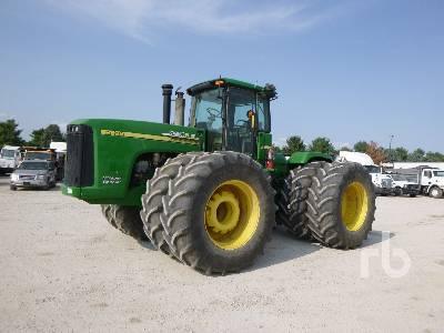 2006 JOHN DEERE 9520 Scraper Special 4WD Tractor