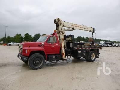 1989 FORD F8000 w/JLG 8008T 16000 Lb Boom Truck