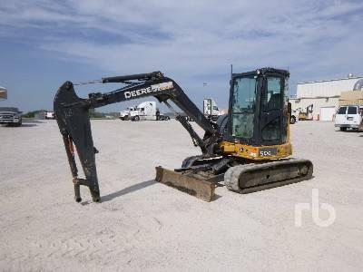 2013 JOHN DEERE 50G Mini Excavator (1 - 4.9 Tons)