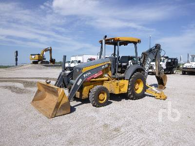 2014 JOHN DEERE 310K 4x4 Loader Backhoe