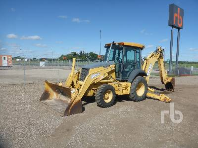 2004 JOHN DEERE 310SG 4x4 Loader Backhoe