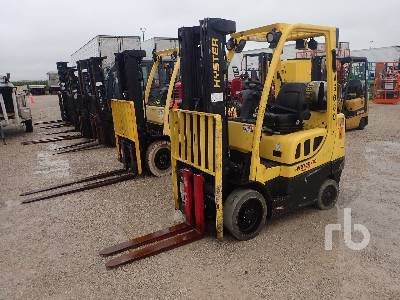 2014 HYSTER S60FT 6000 Lb RIDE ON Forklift