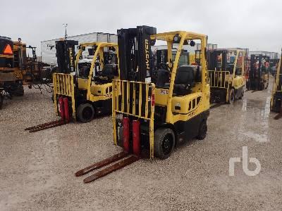 2014 HYSTER S60FT 6000 Lb Forklift