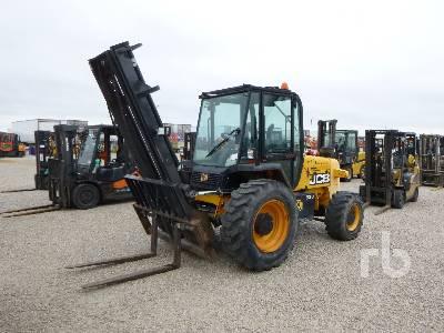 JCB 930-4 6000 Lb 4x4x4 Rough Terrain Forklift