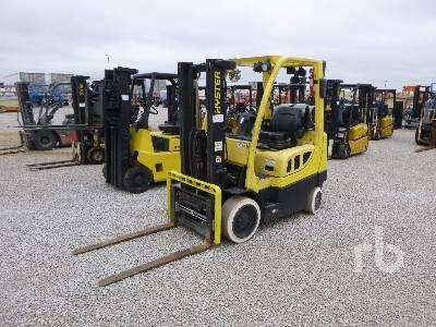 2013 HYSTER S50FT 4500 Lb Forklift