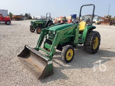 1999 JOHN DEERE 4600 2WD Utility Tractor