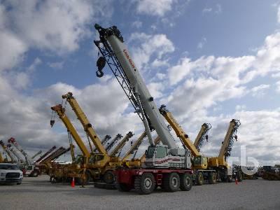 2007 LINK-BELT RTC80100 100 Ton 6x6x6 Rough Terrain Crane