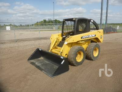 JOHN DEERE 270 2 Spd Skid Steer Loader