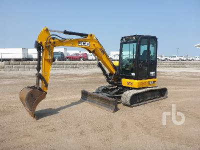 2016 JCB 48Z-1 Mini Excavator (1 - 4.9 Tons)