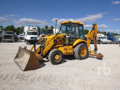 2000 JCB 214 4x4 Loader Backhoe