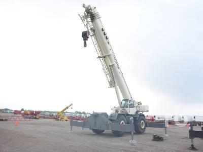 2008 TEREX RT1120 120 Ton Rough Terrain Crane