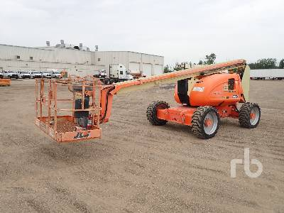 2007 JLG 600A 4x4 Articulated Boom Lift