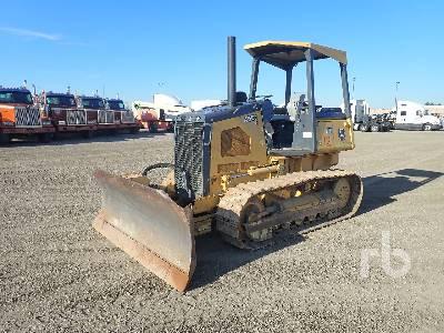 2012 JOHN DEERE 450J Crawler Tractor