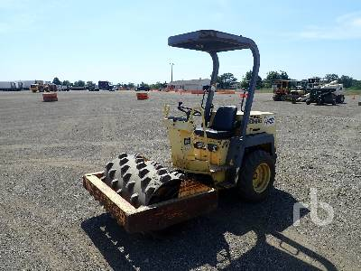1995 BOMAG BW124PD Vibratory Padfoot Compactor