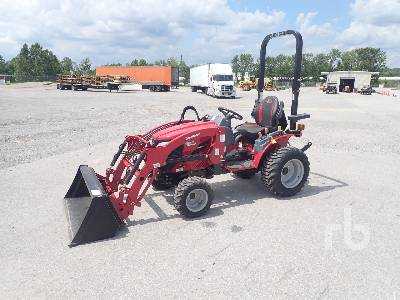 Unused 2017 MAHINDRA EMAX 22L 4WD Utility Tractor