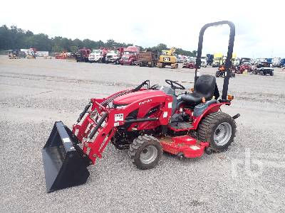 MAHINDRA EMAX 25S 4WD Utility Tractor