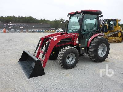 MAHINDRA 3550 INOPERABLE 4WD Utility Tractor