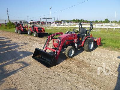 MAHINDRA MAX26HST 4WD Tractor