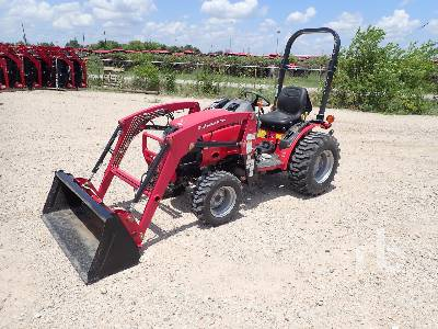 2017 MAHINDRA MAX 26 4WD Utility Tractor