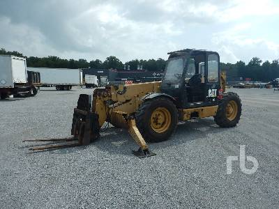 2002 CATERPILLAR TH83 8000 Lb 4x4x4 Telescopic Forklift